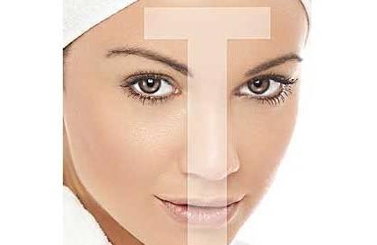Т-зона комбинированной кожи