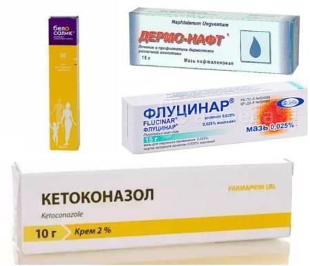 Медикаментозное лечение себореи