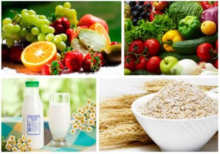 диета при жирной себорее кожи