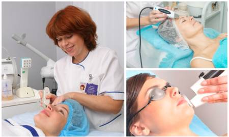Косметологические процедуры от пигментации на лице