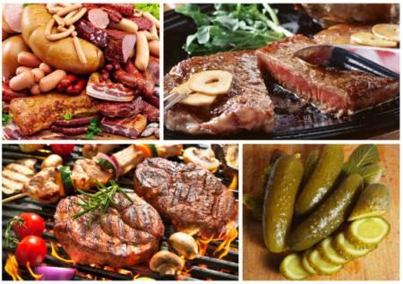 Вредные продукты питания для кожи