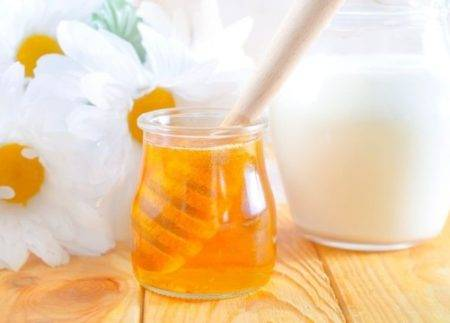 Сметана и мед
