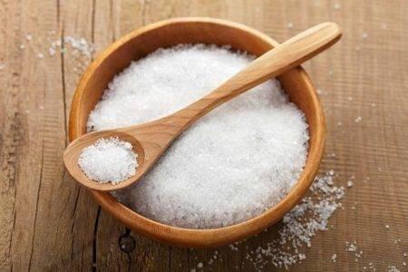 Скраб с солью