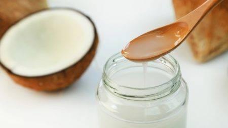 Кокосовое масло в чистом виде