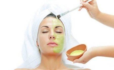 маски с водорослью